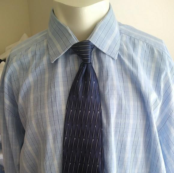 Turnbull & Asser Shirts | Turnbull Asser Sz 1846cm 65free Gift Silk ...